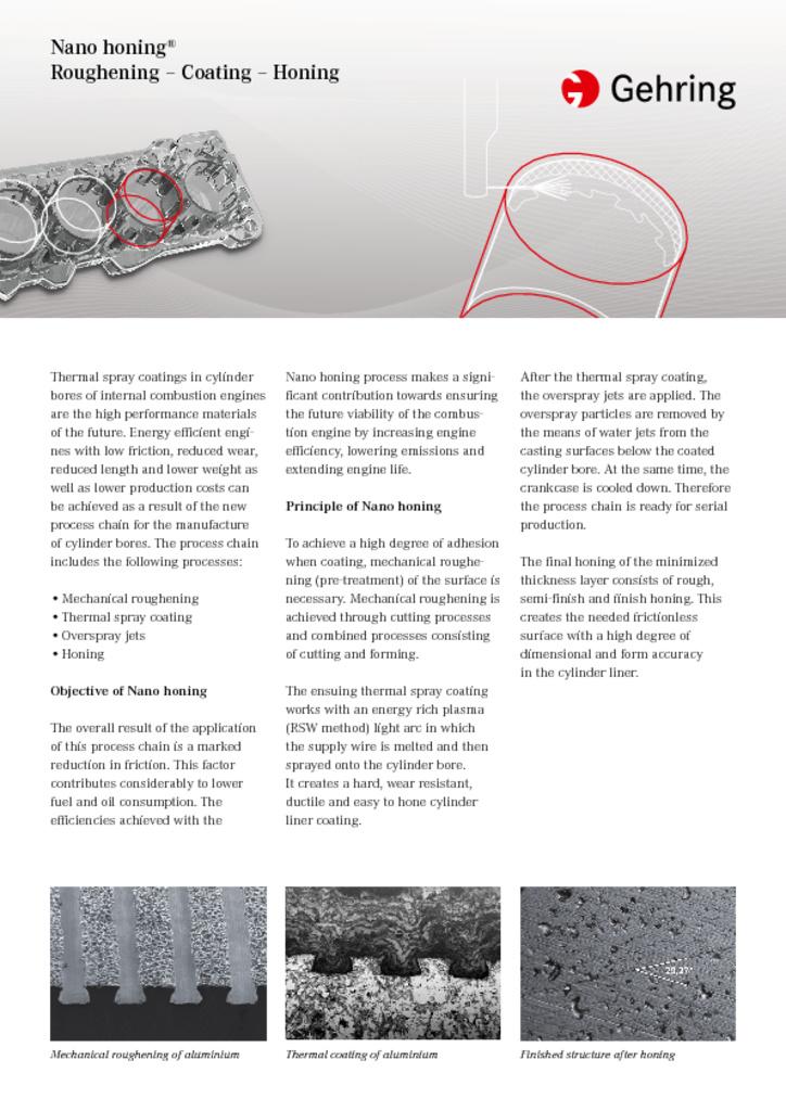 Technologies Brochures Download   Gehring